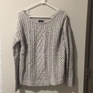 American Eagle Chunky Cable-Knit Sweater